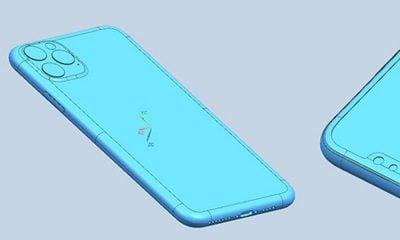 Fuite de schémas d'usine des iPhone 2019 9