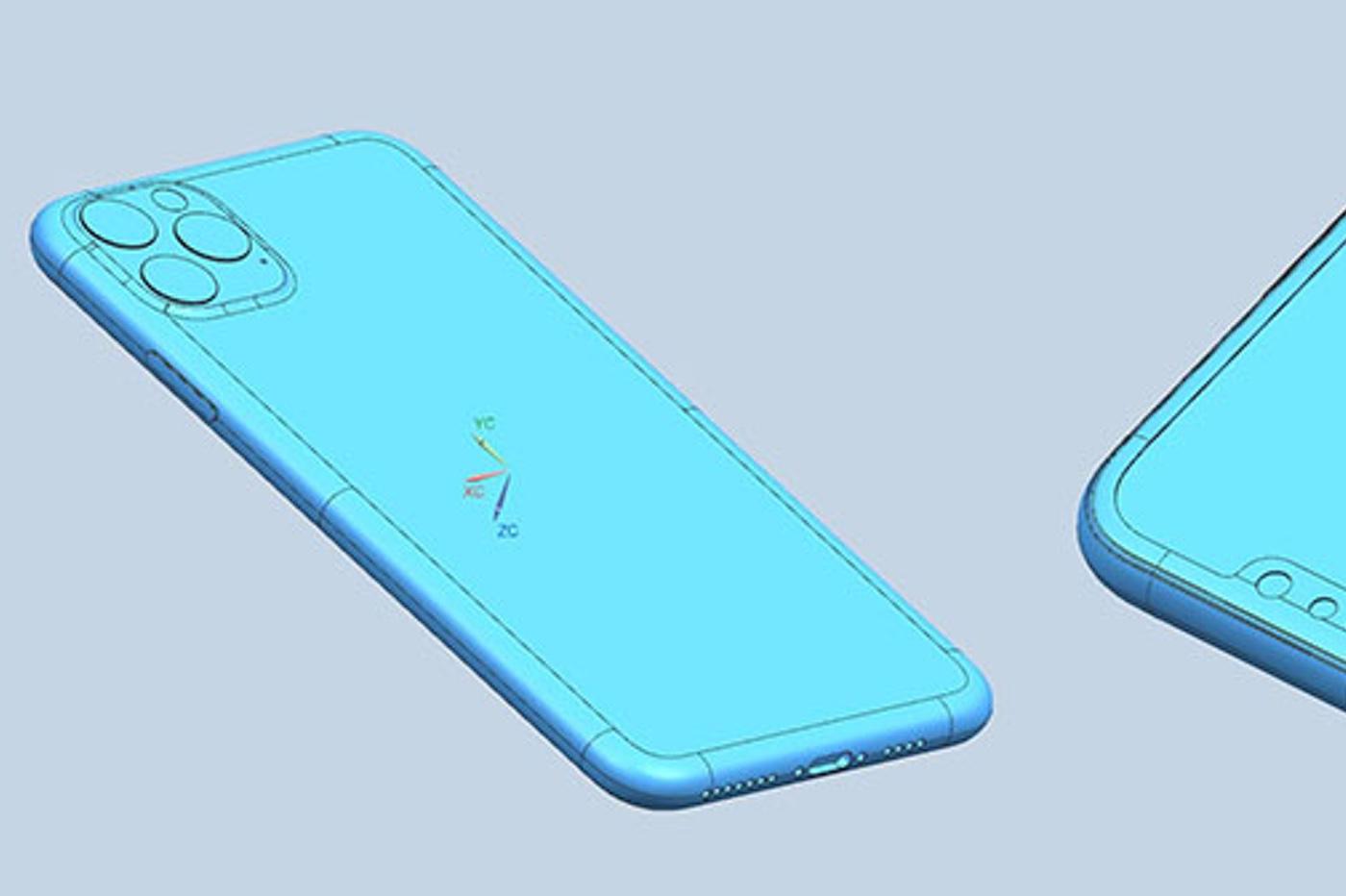 Fuite de schémas d'usine des iPhone 2019 1