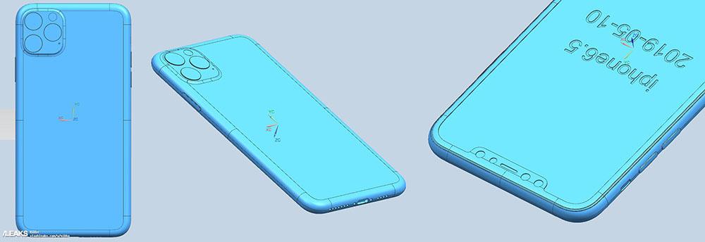 Fuite de schémas d'usine des iPhone 2019 2