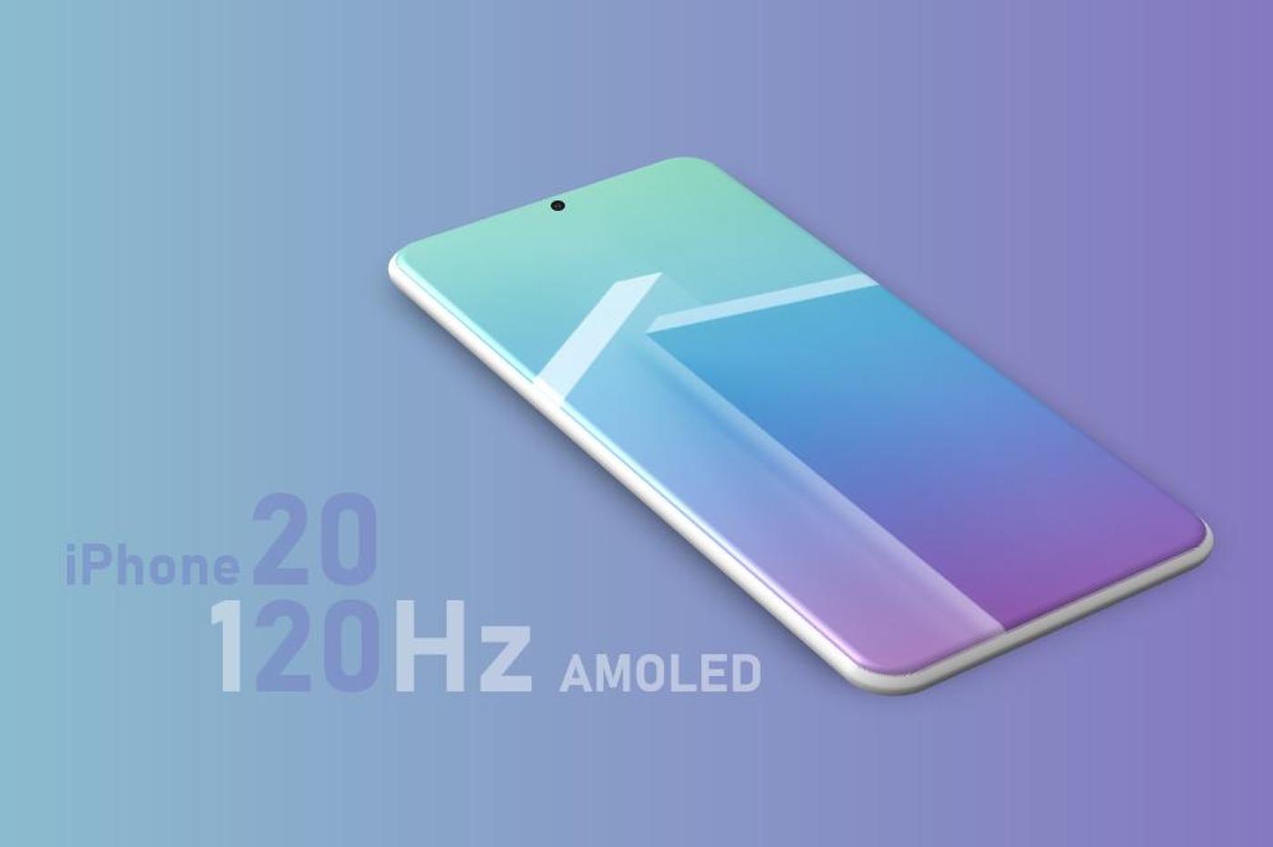 iPhone 2020 avec écran ProMotion
