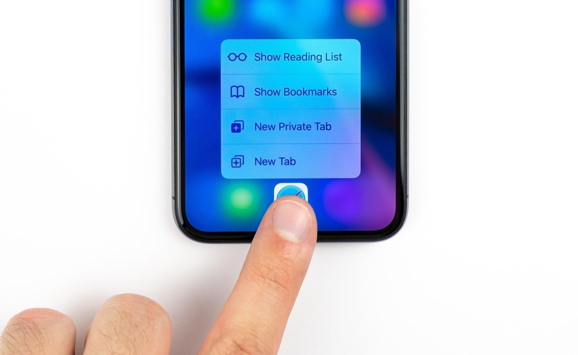 Le 3D Touch sur iPhone abandonné par Apple dès 2019? 1