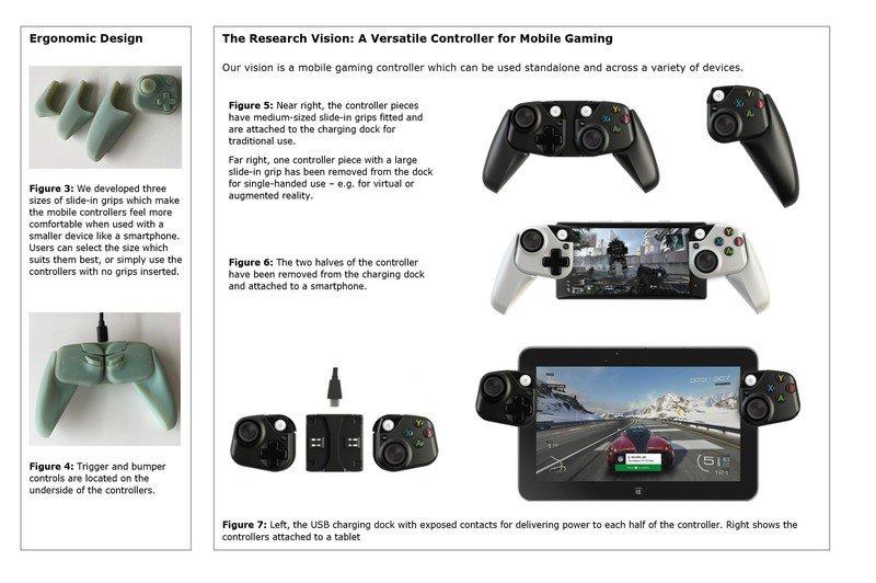 Microsoft travaille sur des manettes de jeu iPhone, iPad 2