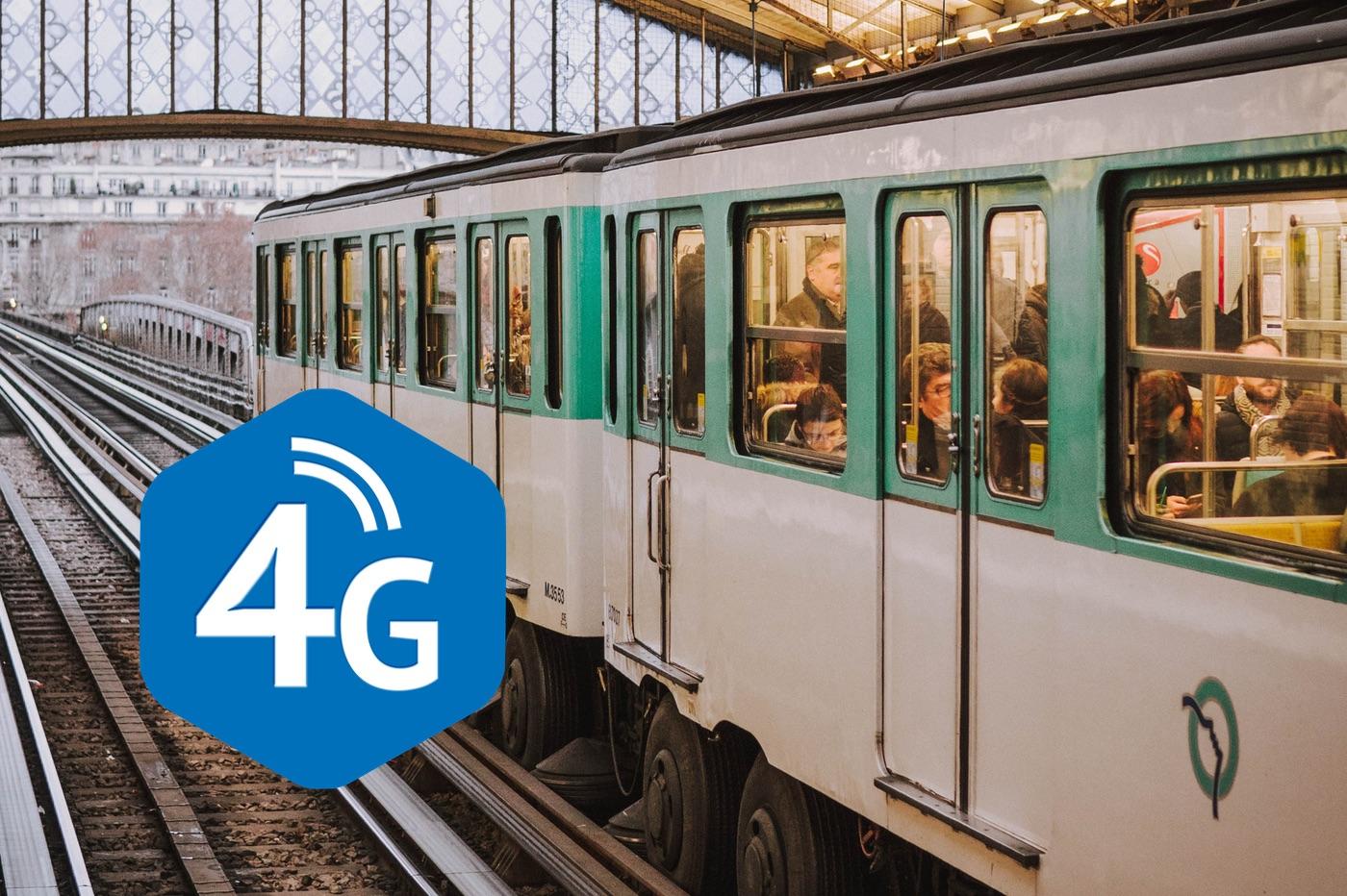 Bientôt l'intégralité du métro parisien couvert en 4G ? 1