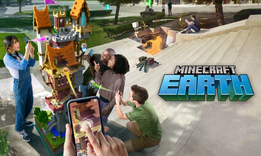 Minecraft Earth disponible en pré-lancement : sortie mondiale imminente 1