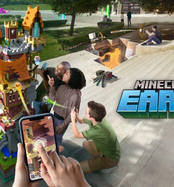 Minecraft Earth disponible en pré-lancement : sortie mondiale imminente 2