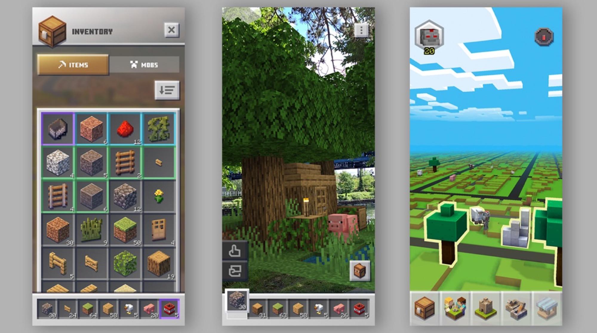 Le jeu iOS Minecraft Earth entre en phase de bêta-test publique 2