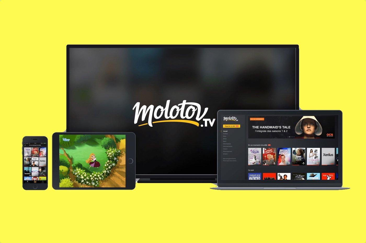 Applications Molotov