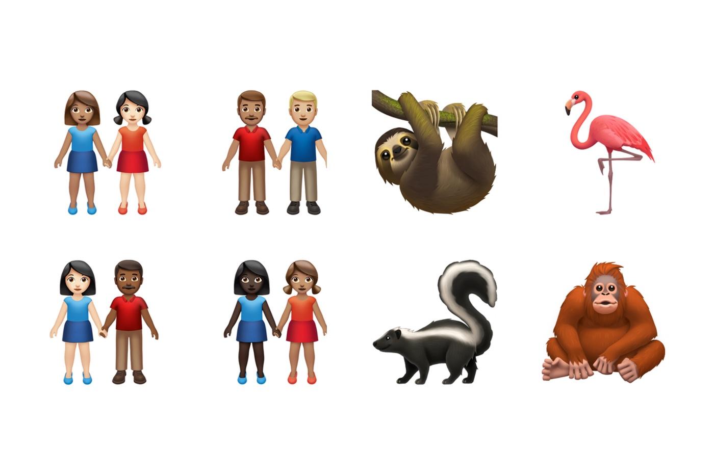 En images, les 59 nouveaux emojis à venir cet automne sur iOS et macOS 1