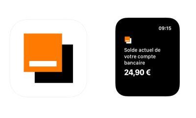 Orange Bank sur Apple Watch