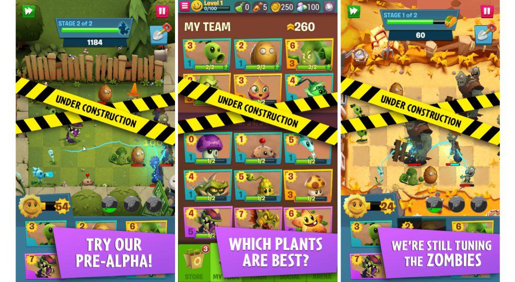 Plants Vs. Zombies 3: le jeu mobile se prépare 2