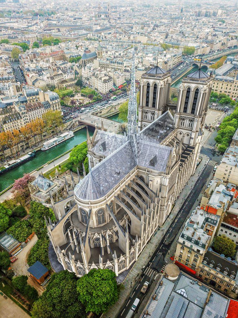 Notre-Dame de Paris pourrait être reconstruite façon Apple Store 5