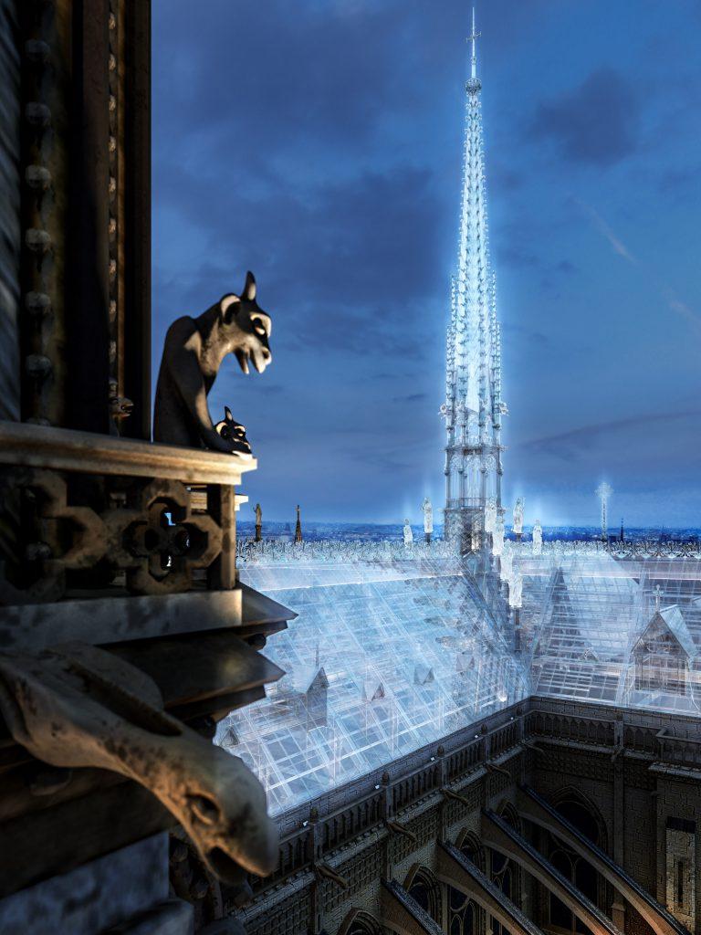 Notre-Dame de Paris pourrait être reconstruite façon Apple Store 4