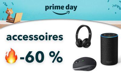 Amazon Prime Day : jusqu'à -63 % sur ces accessoires Apple, Logitech, Echo, Beats, etc. 11