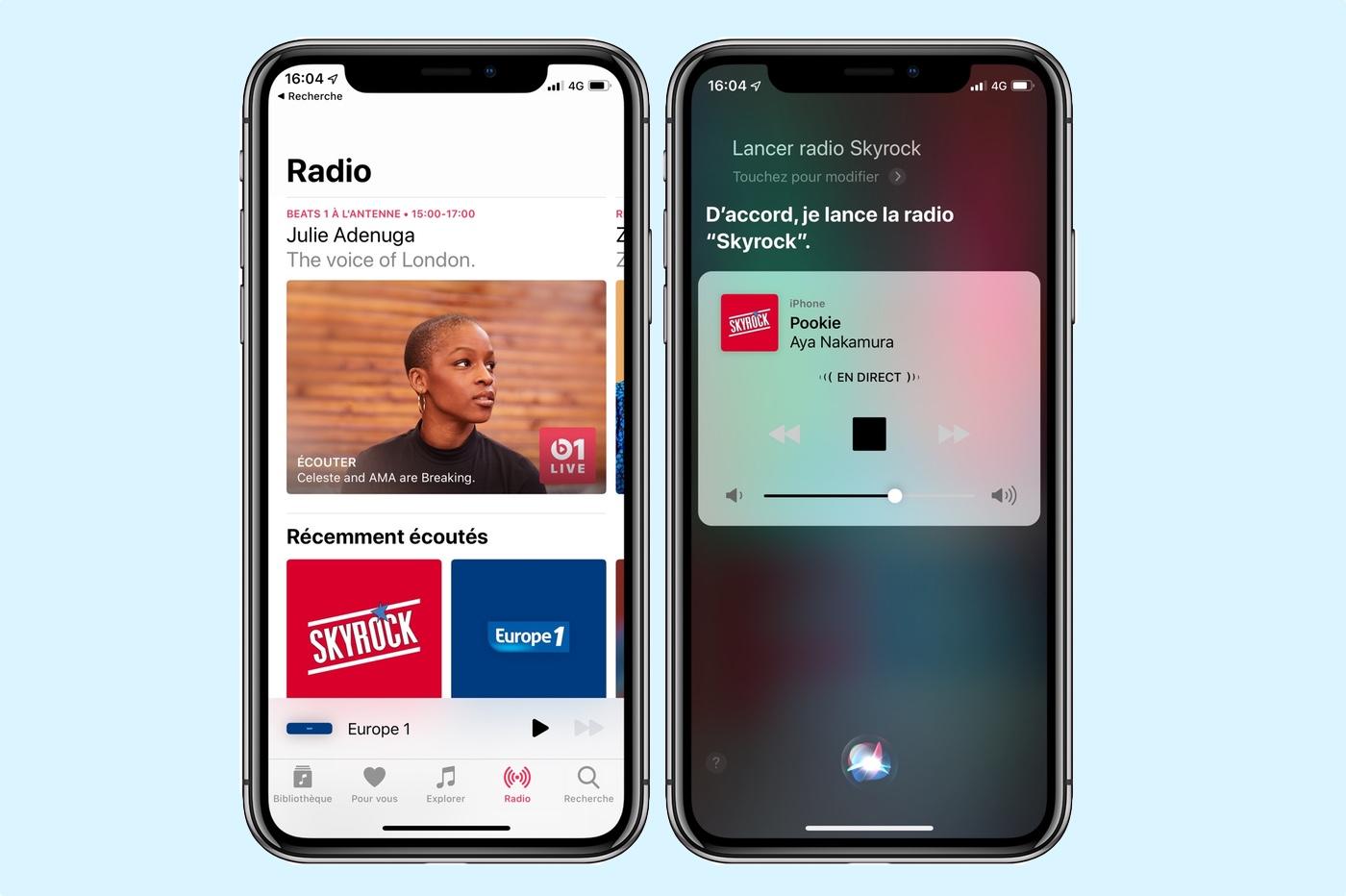 Les stations de radio débarquent sur iPhone, iPad et HomePod 1