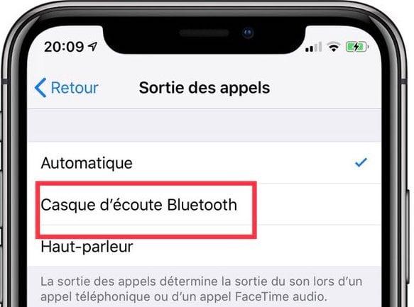Comment utiliser le décrochage automatique sur iPhone? 3