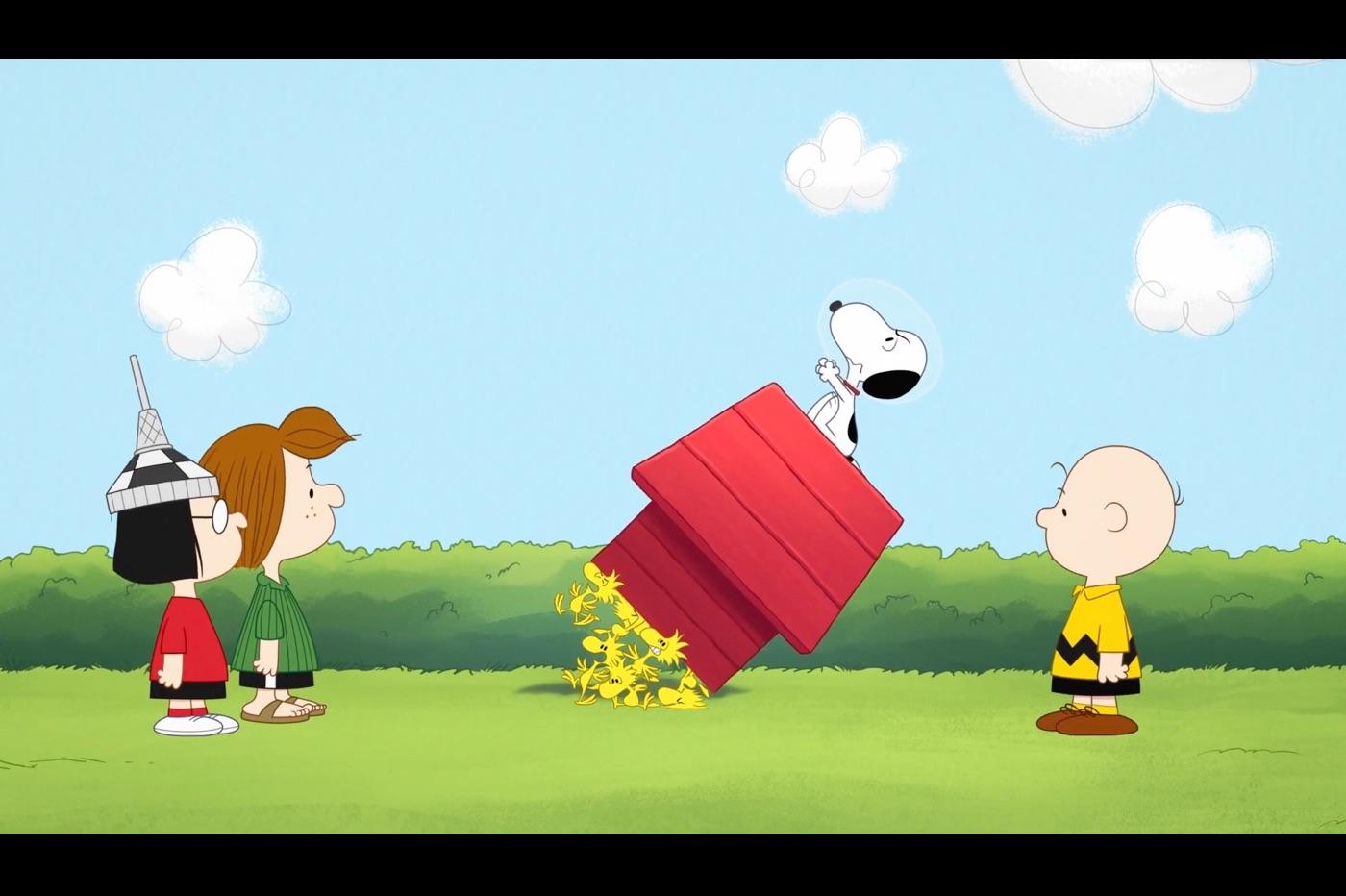Pour Apple TV+, Snoopy va retourner dans l'espace 1