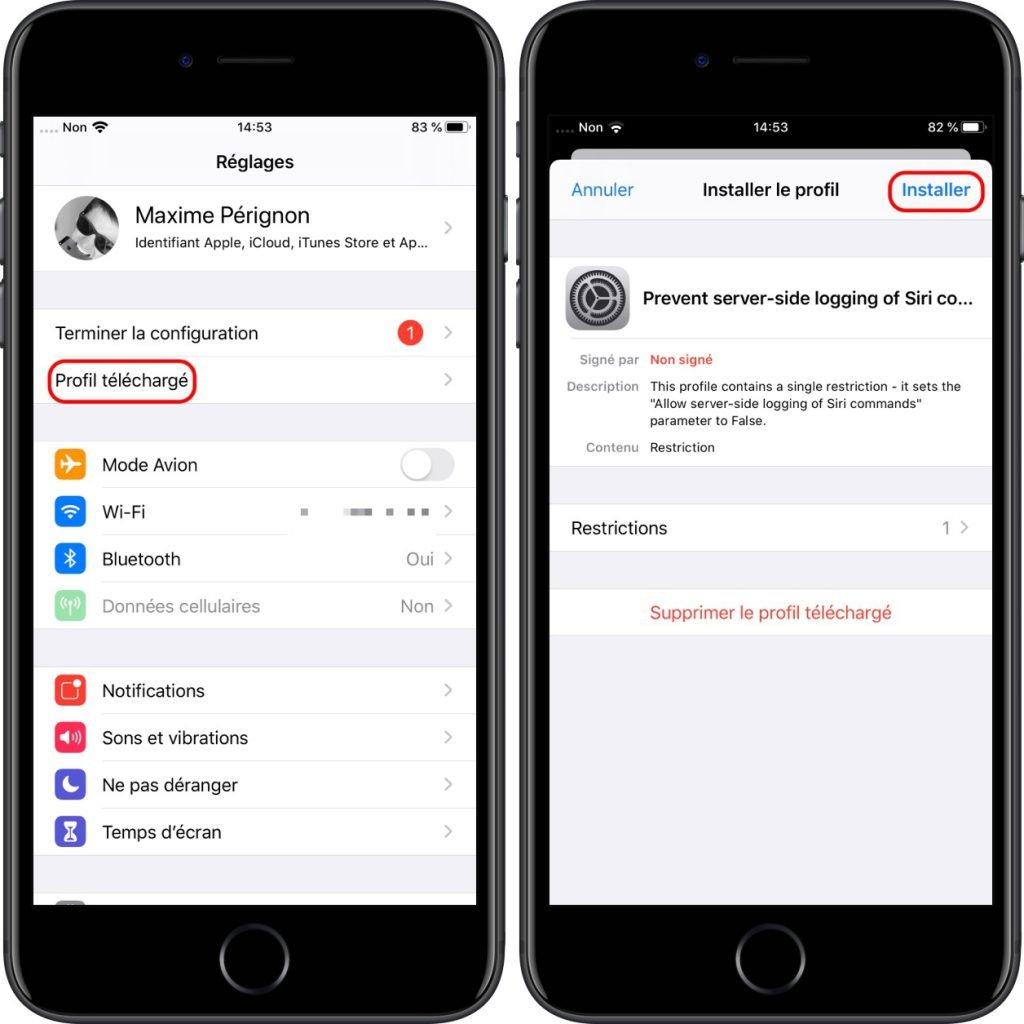 Comment empêcher Apple d'écouter vos requêtes Siri 2