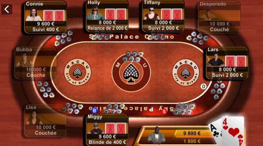 Historique: Apple met à jour son seul jeu iOS, Texas Hold'em (màj) 3