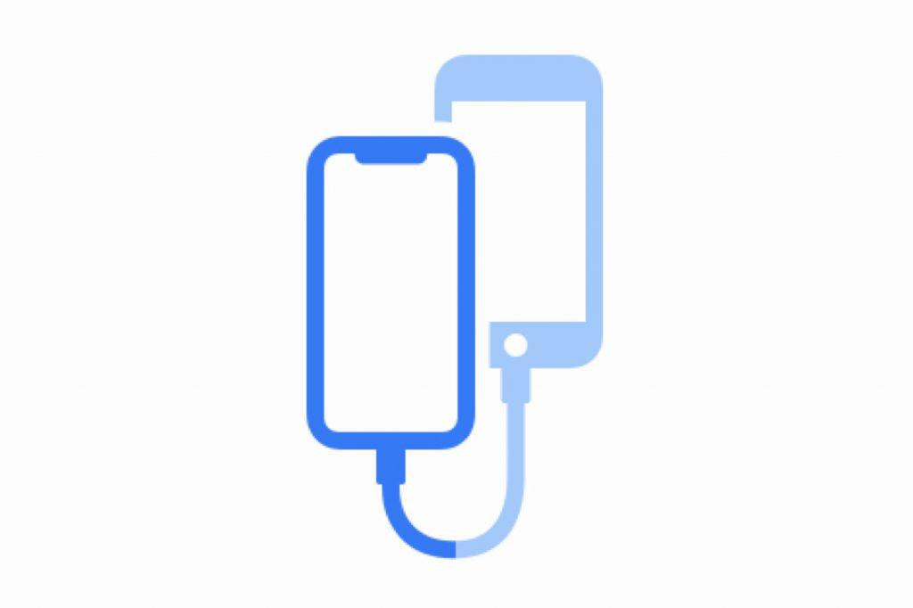 iOS 13: le transfert de données en filaire entre deux iPhone bientôt possible? 2
