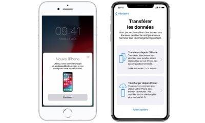iOS 12.4 : comment fonctionne le transfert de données entre deux iPhone ou iPad 11