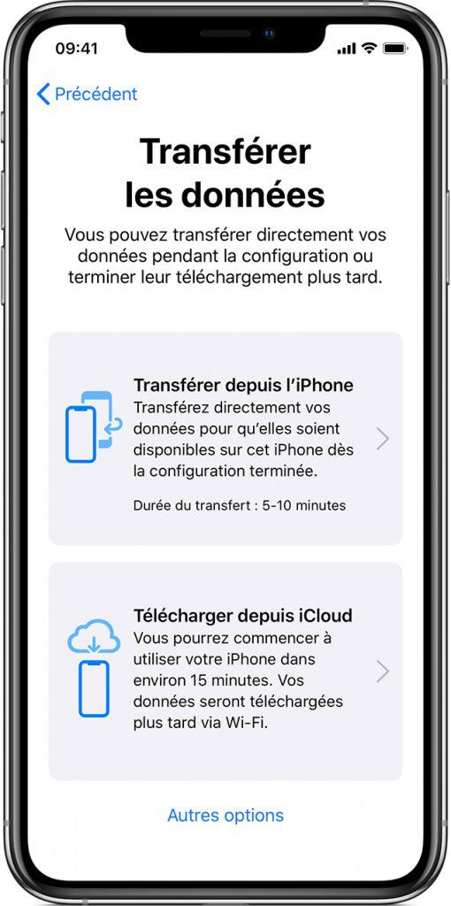 iOS 12.4: comment fonctionne le transfert de données entre deux iPhone ou iPad 3