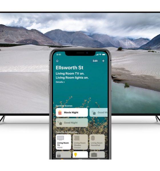 Support HomeKit avec TV Vizio