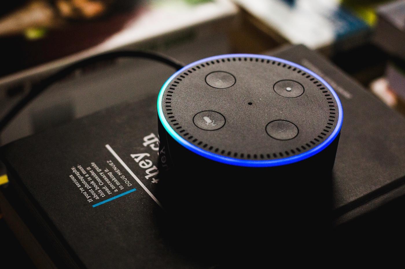enceinte Amazon avec Alexa