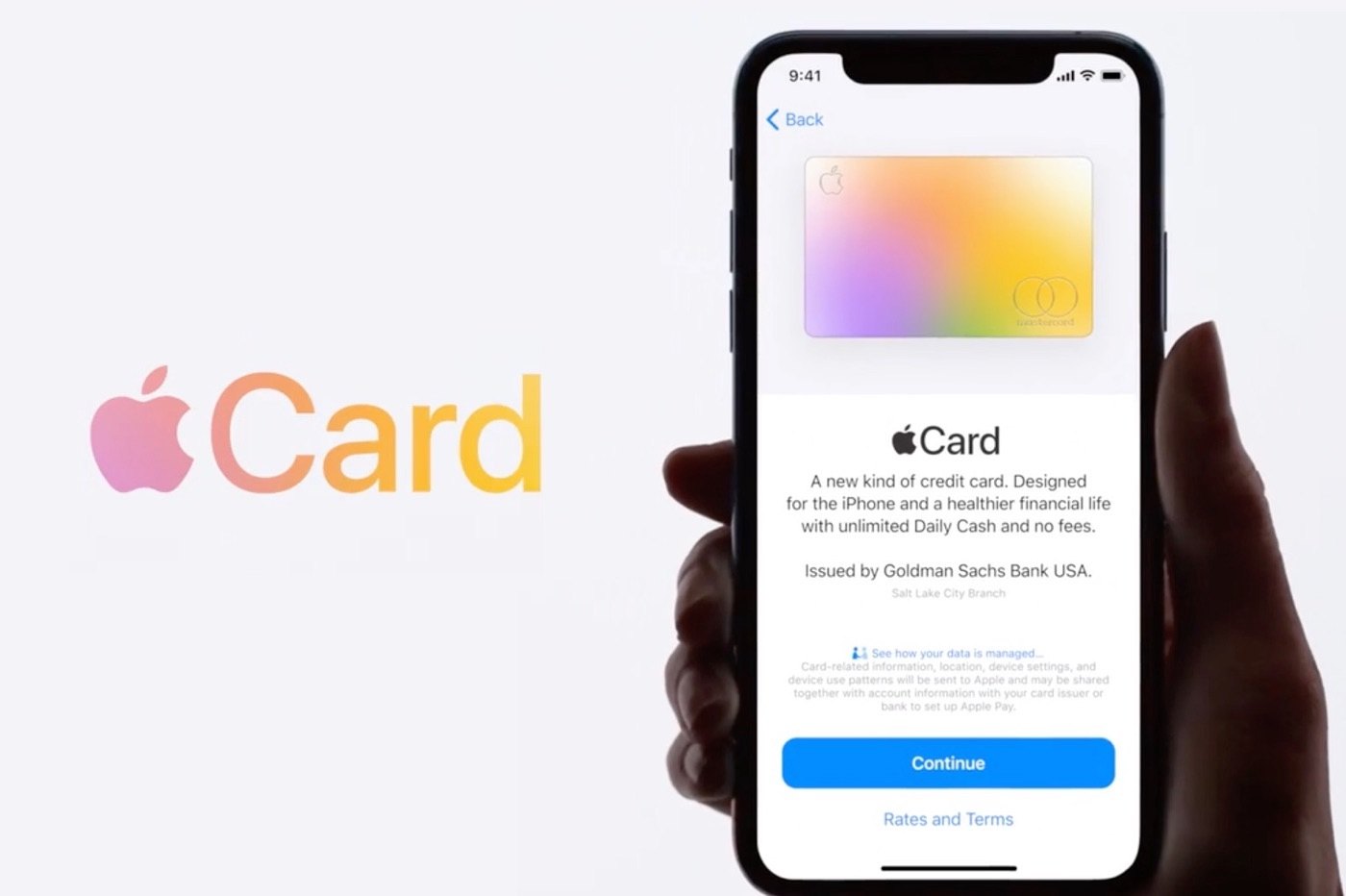 Lancement Apple Card USA