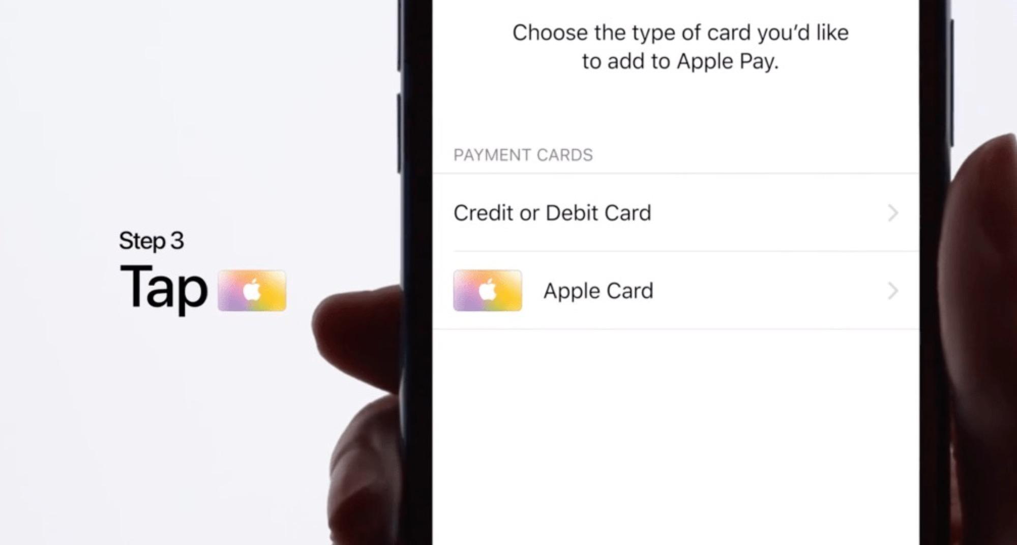 Comment s'inscrire à Apple Card dans Wallet