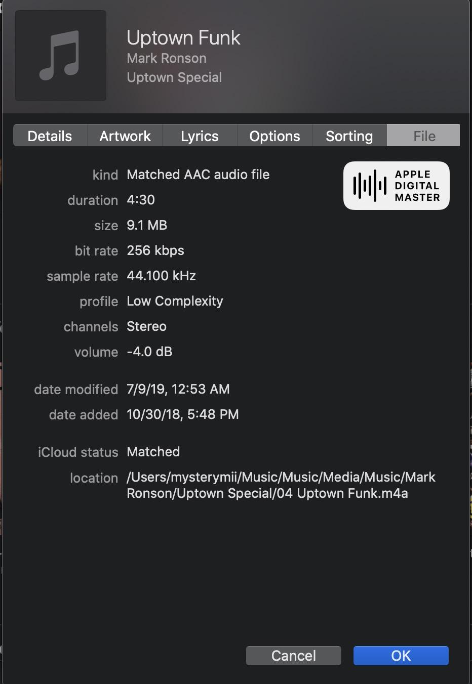 Apple Music Digital Masters