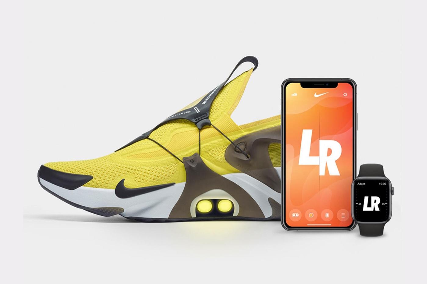 delicate colors low cost 100% top quality Nike lance des baskets autolaçantes, contrôlables avec Siri ...