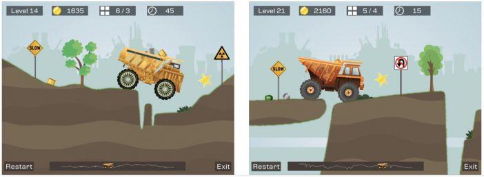 jeu iOS Big Truck