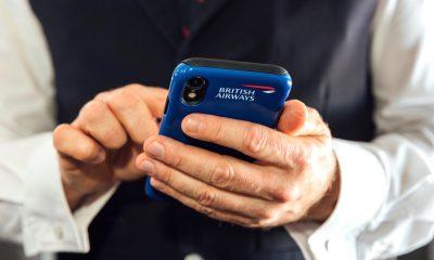 British Airways équipage employés iPhone XR