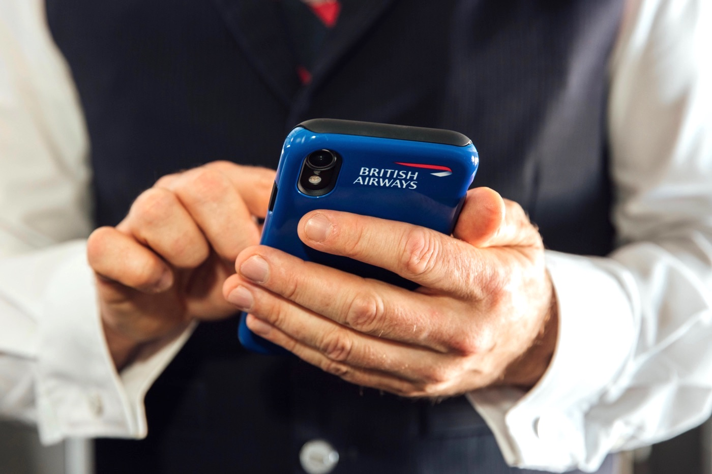 British Airways équipage employés iPhone XR