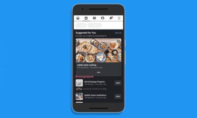 mode sombre Facebook sur Android