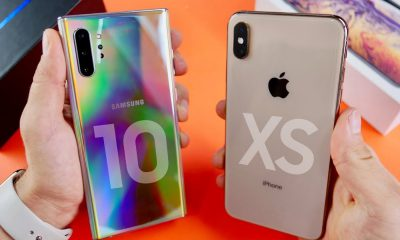 Galaxy Note 10+ vs iPhone XS Max