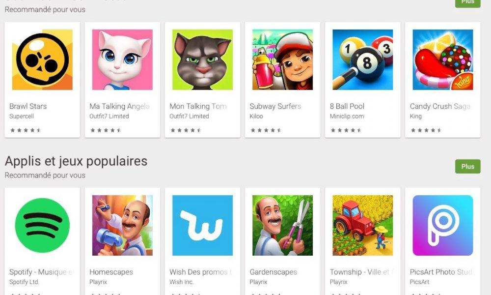 Abonnement apps jeux Google Play Pass