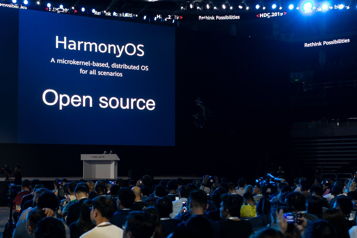 annonce nouvel OS Huawei Harmony