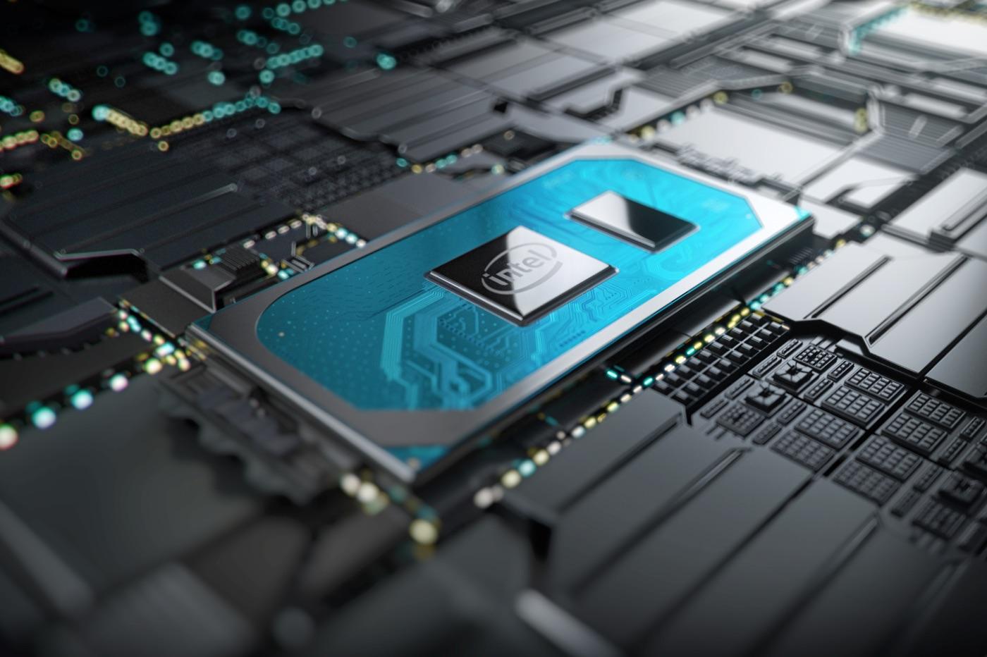 Nouvelle puce 10e génération Intel