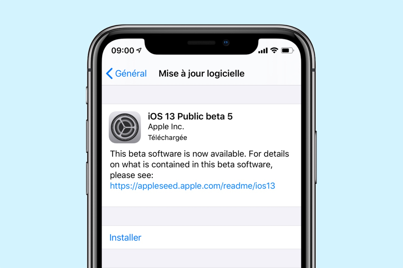 iOS 13 Beta 5 publique