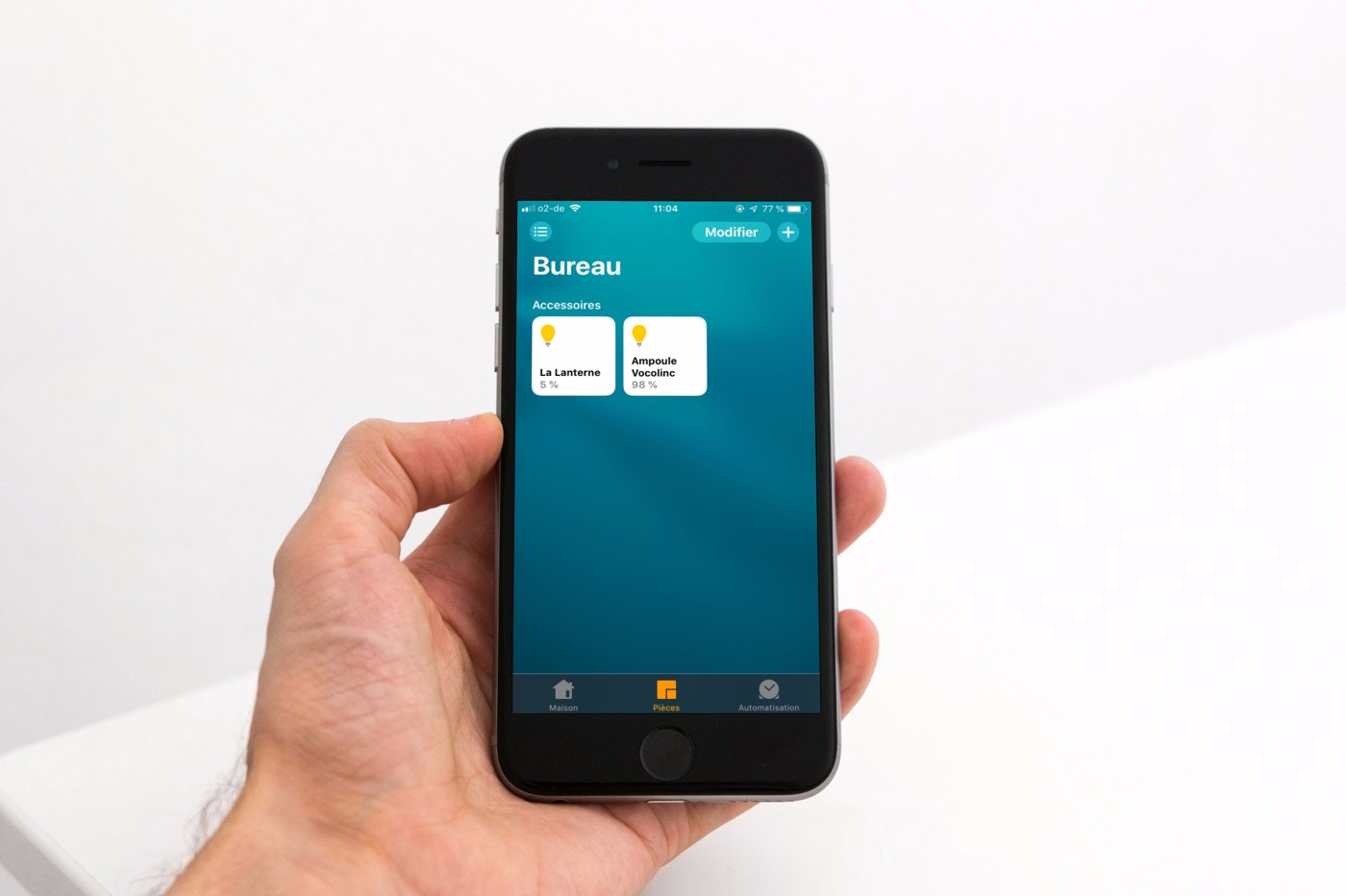 iPhone 6s app Maison HomeKit iOS 13 fond écran