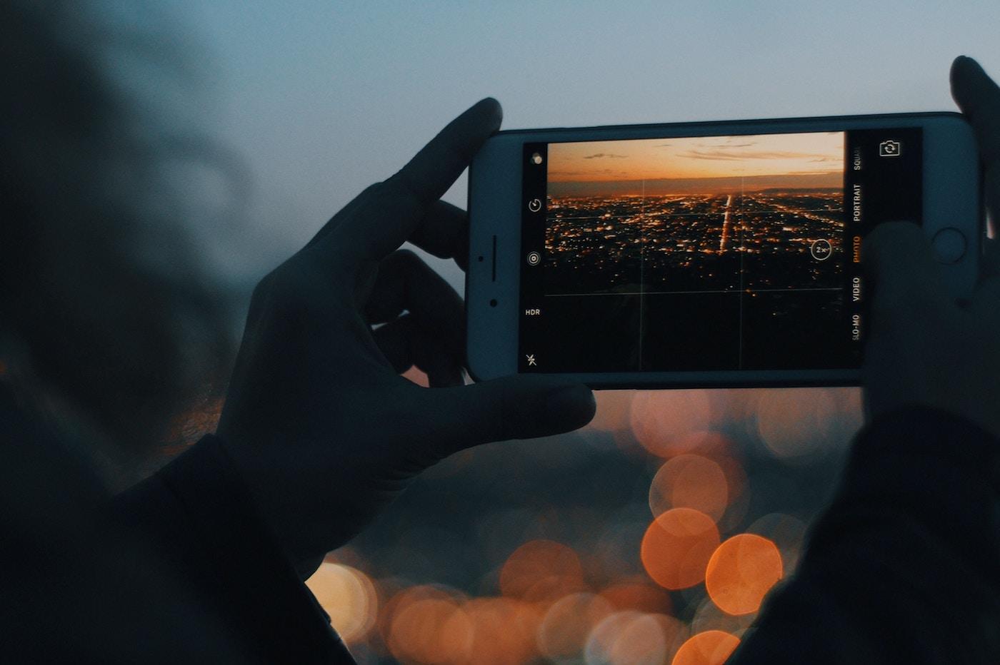 iPhone Photo Nuit