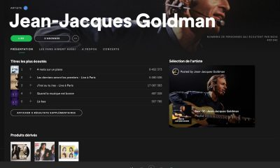 Jean-Jacques Goldman sur Spotify