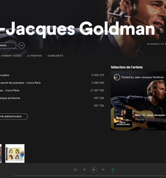 Jean-Jacques Goldman sur Spotify