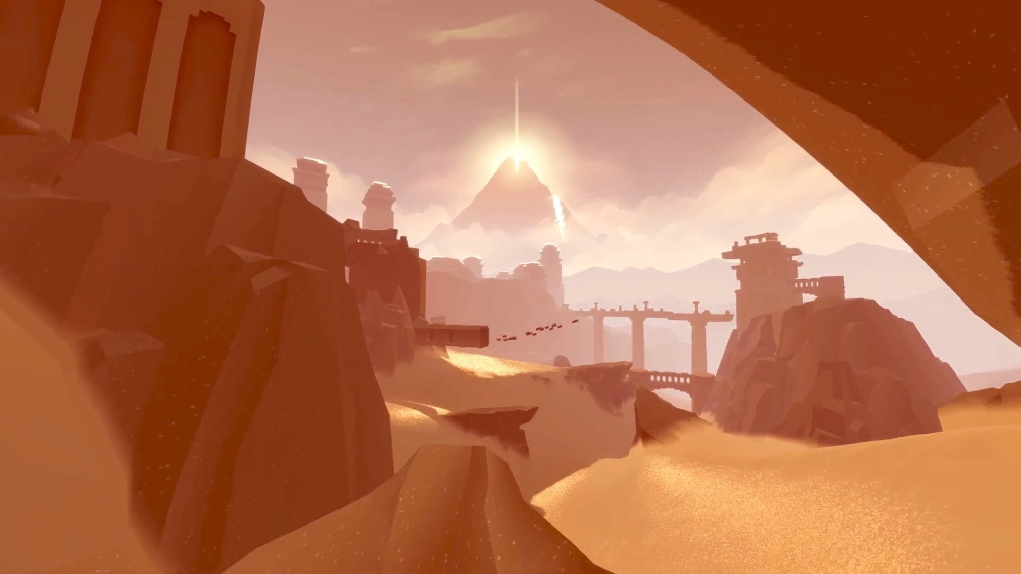 Capture écran jeu Journey iPhone et iPad