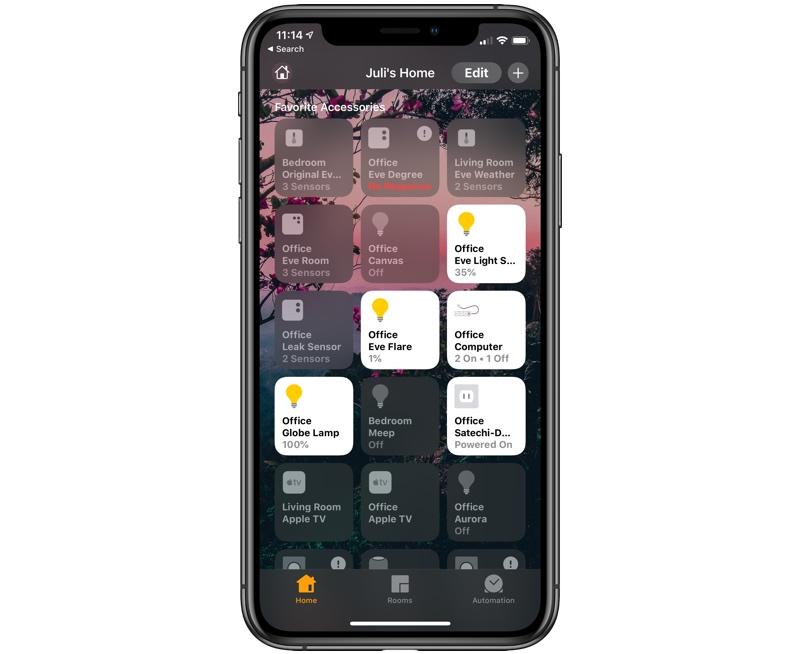 app maison iOS 13