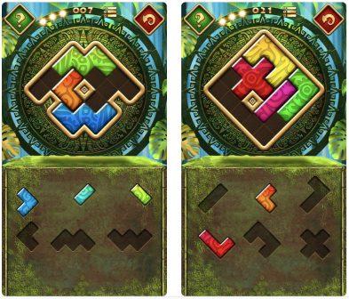 jeu iOS Montezuma Puzzle 4