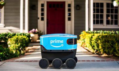 Robot livreur Amazon Scout
