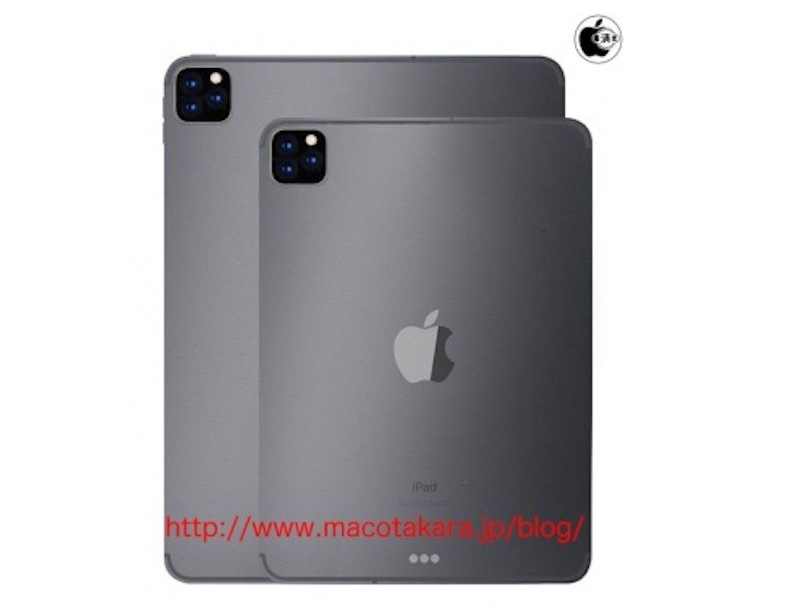 Rumeur iPad Pro 3 capteur photo