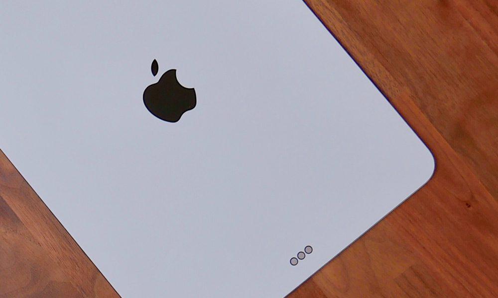 Rumeur iPad Pro triple capteur arrière
